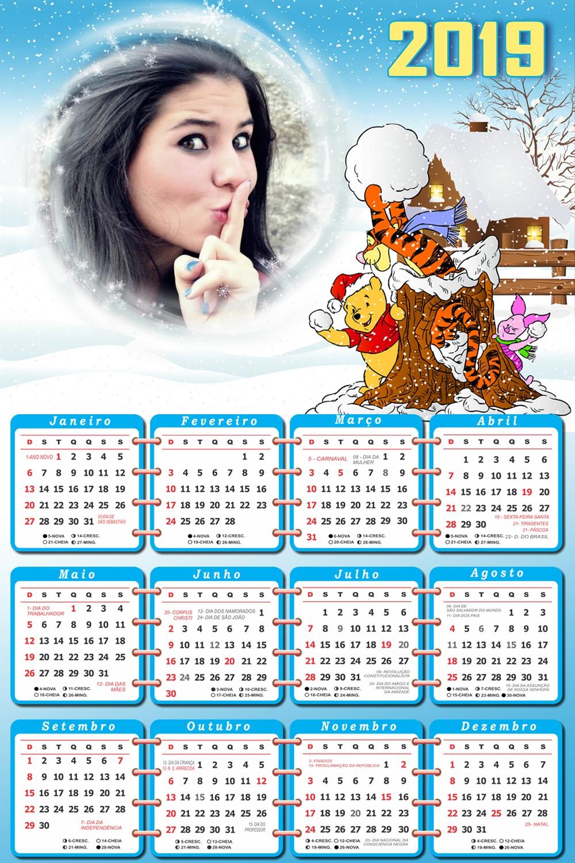 foto-calendario-infantil-2019-winnie-the-pooh-e-turminha-no-natal