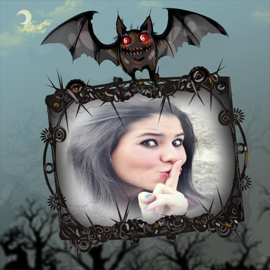 moldura-morcego-asustador