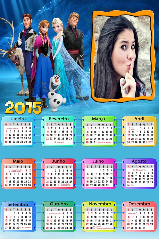 fazer-montagem-em-calendario-frozen-2015