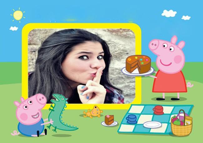 foto-montagens-online-peppa-pig-e-super-george-de-picnic