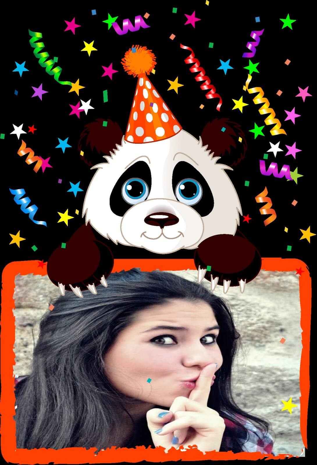 moldura-ursinho-panda-para-aniversario-