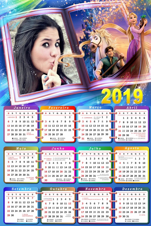 montagem-de-fotos-em-calendario-2019-com-rapunzel
