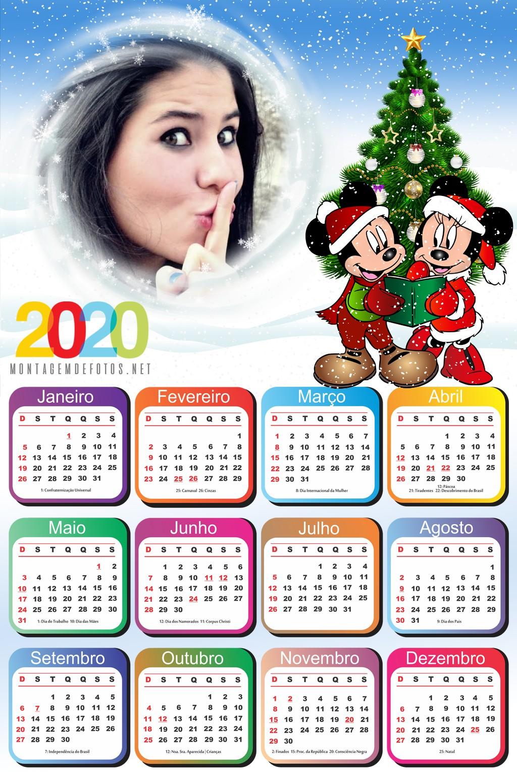 foto-calendario-2020-com-minnie-e-mickey-natal