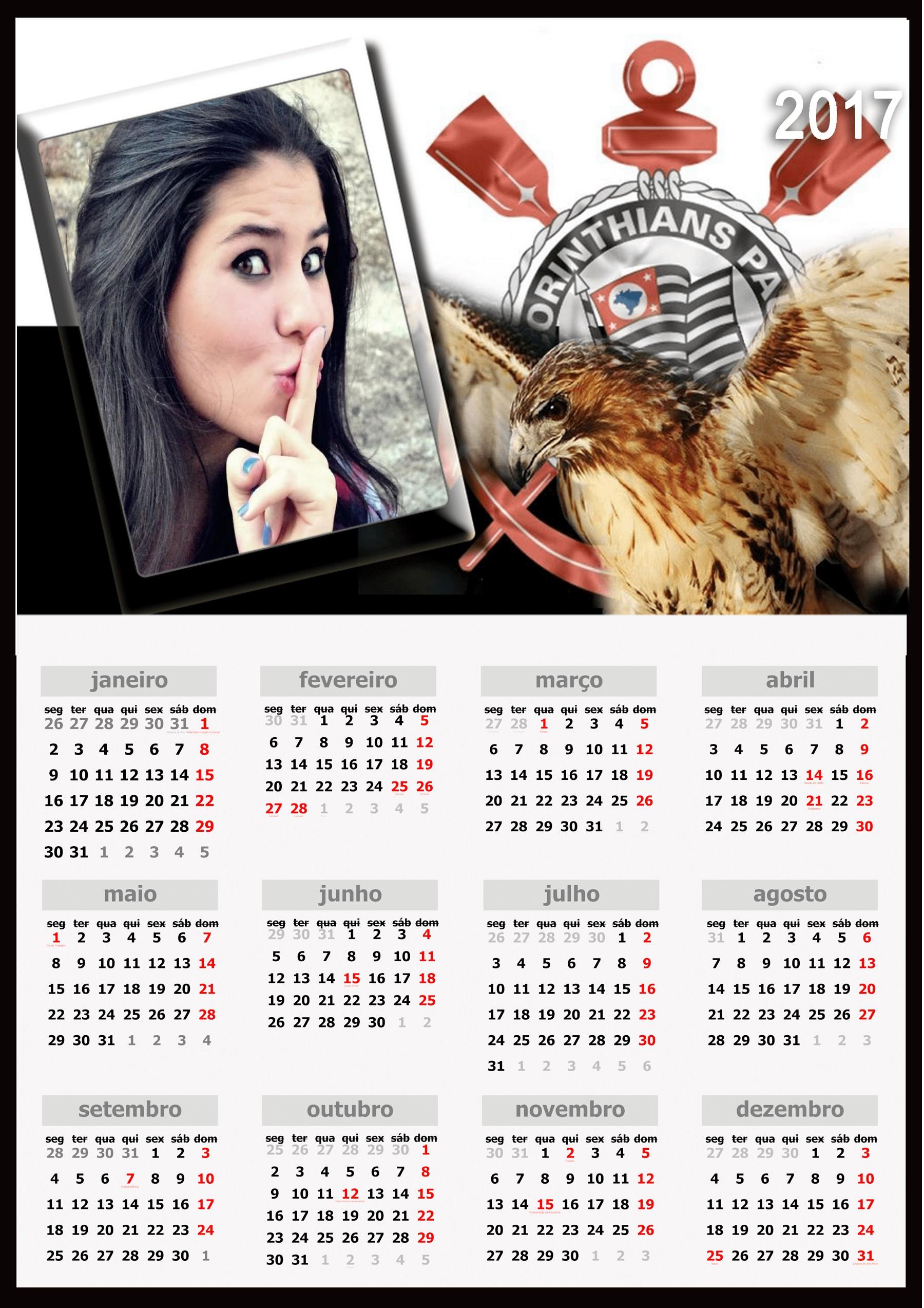 fotomontagem-calendario-time-de-futebol-corinthians-2017