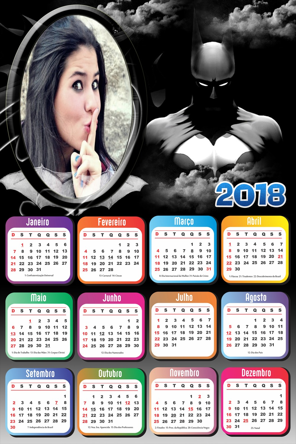 montagem-digital-calendario-2018-do-batman