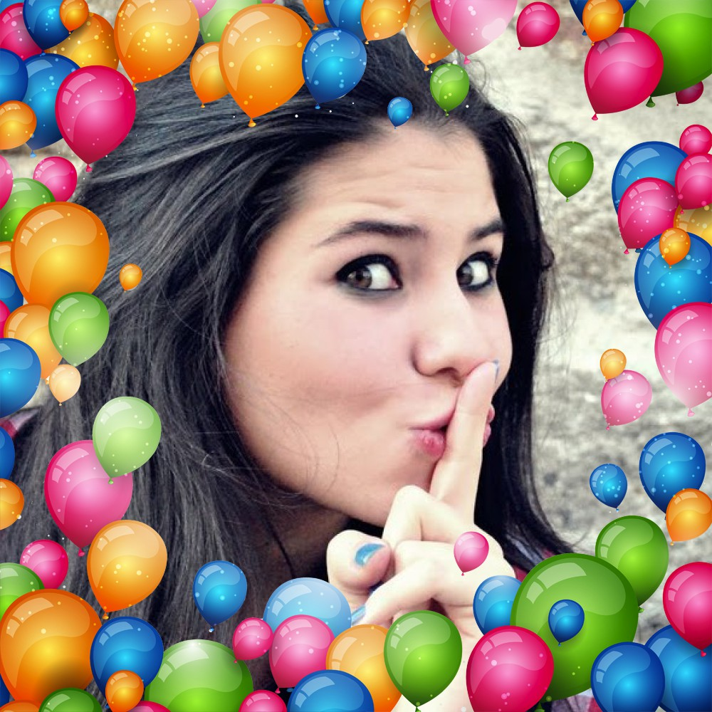 moldura-para-fotos-com-baloes-coloridos-de-aniversario