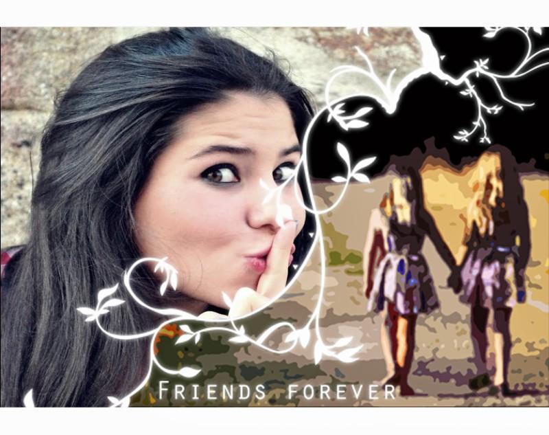 moldura-para-fotos-friends-forever