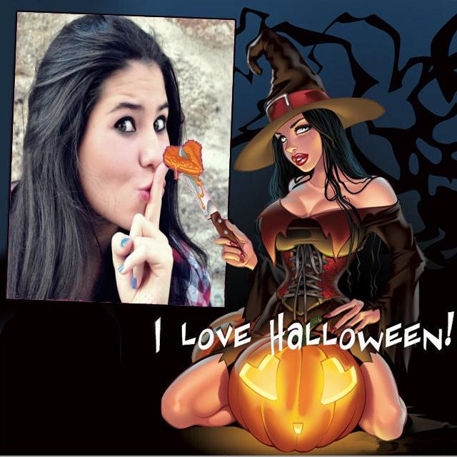 moldura-de-foto-i-love-halloween