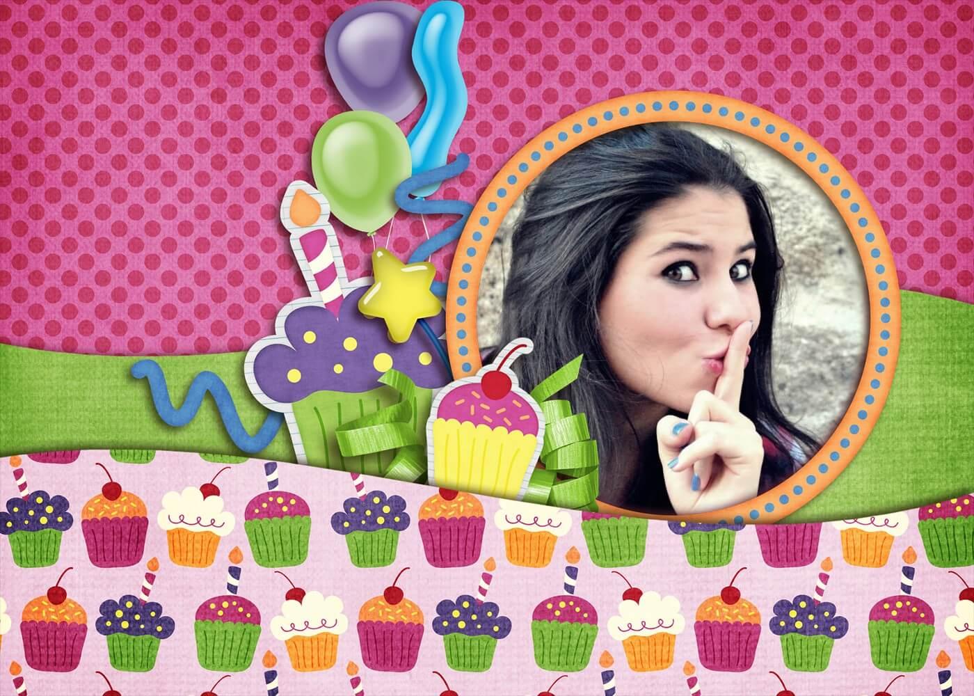 moldura-colorida-com-brownies-para-aniversario