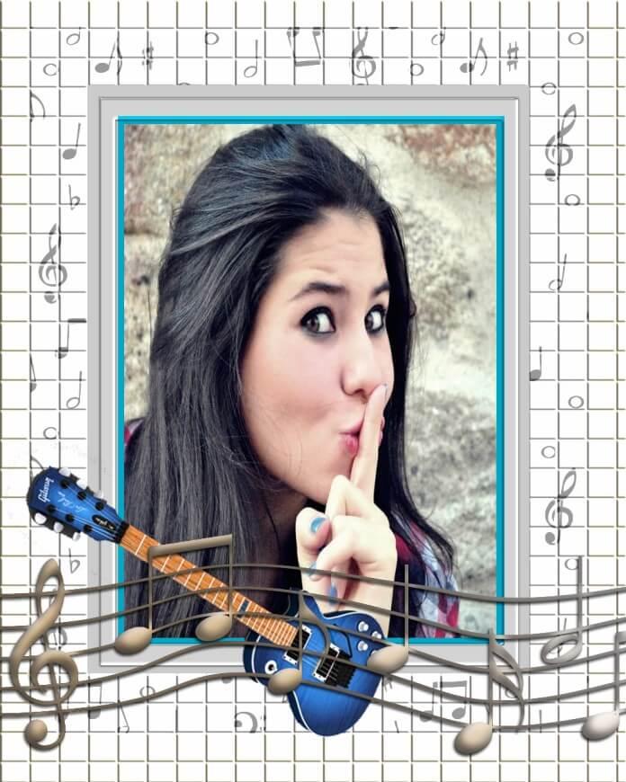 foto-moldura-com-guitarra-eletrica