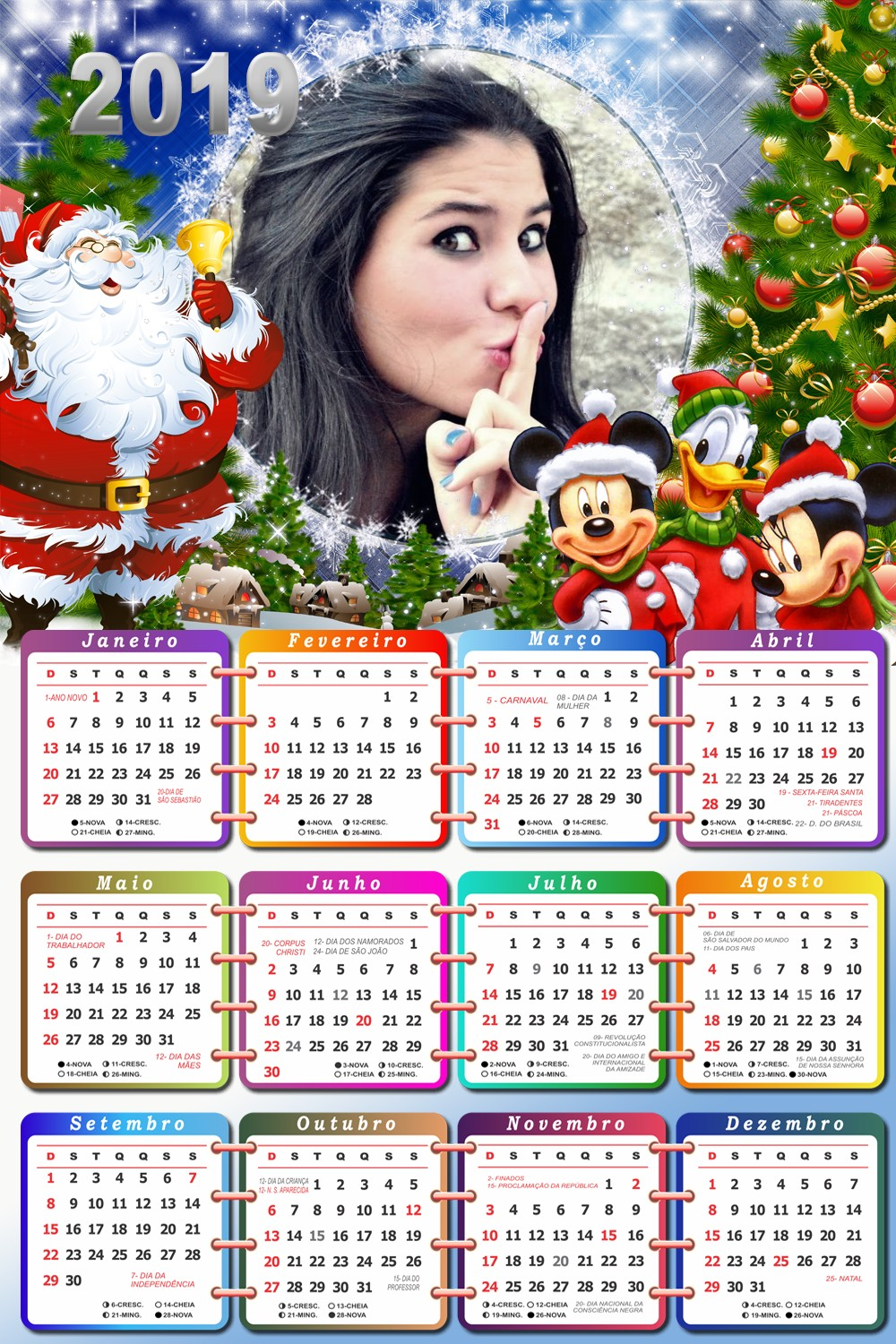 calendario-2019-moldura-mickey-e-minnie-mouse-no-natal