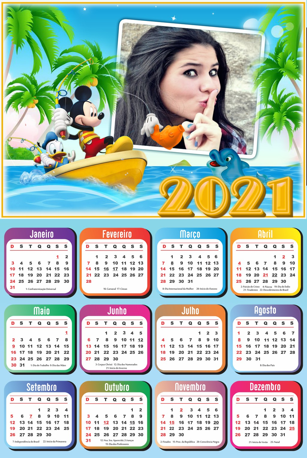 moldura-mickey-pescador-com-calendario-2021-gratis