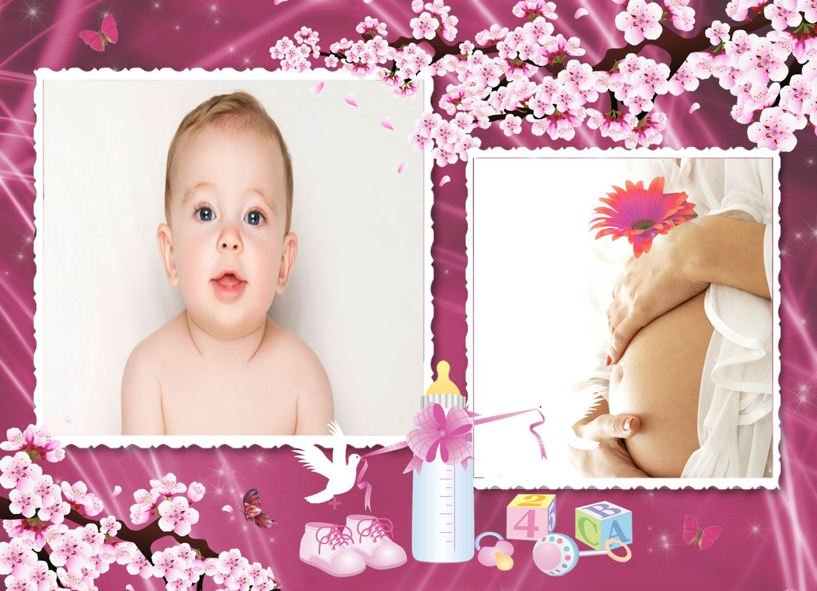 gestante-bebe-menina-moldura