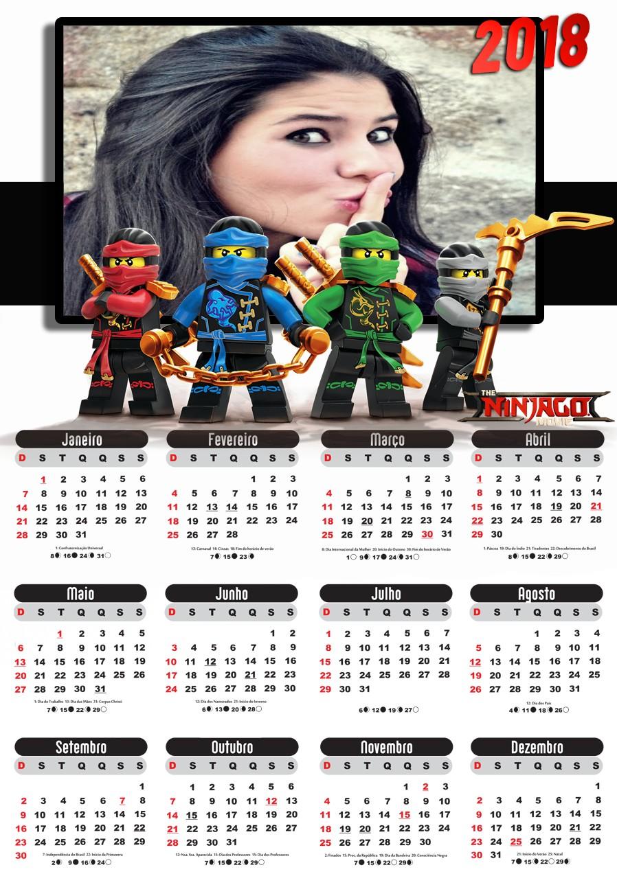 montagem-em-calendario-2018-lego-ninjago