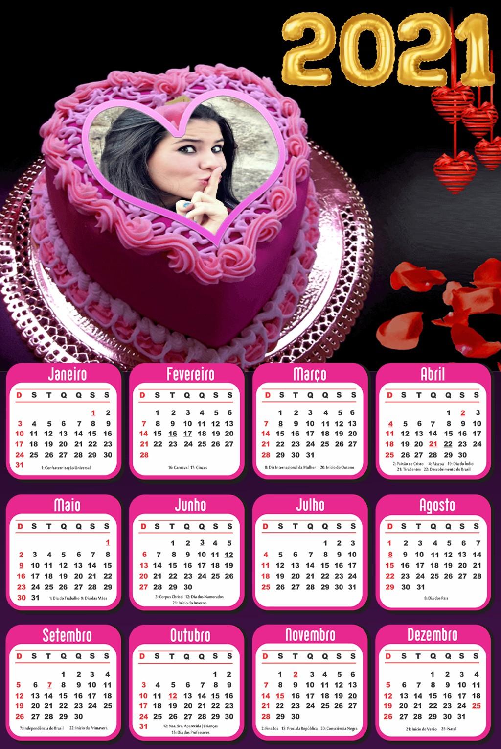 montar-foto-calendario-2021-bolo-de-aniversario