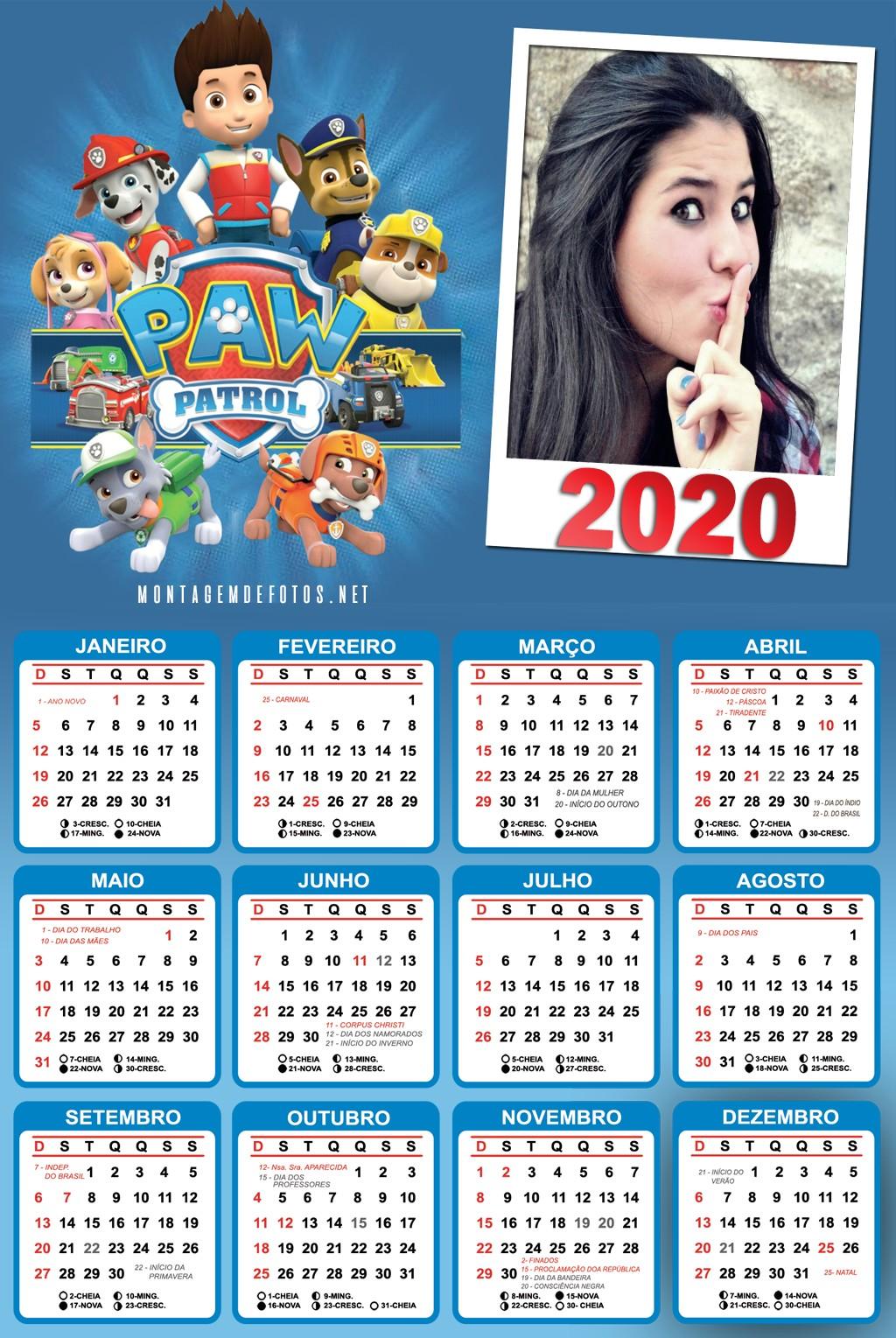 calendario-fotomontagem-2020-patrulha-canina