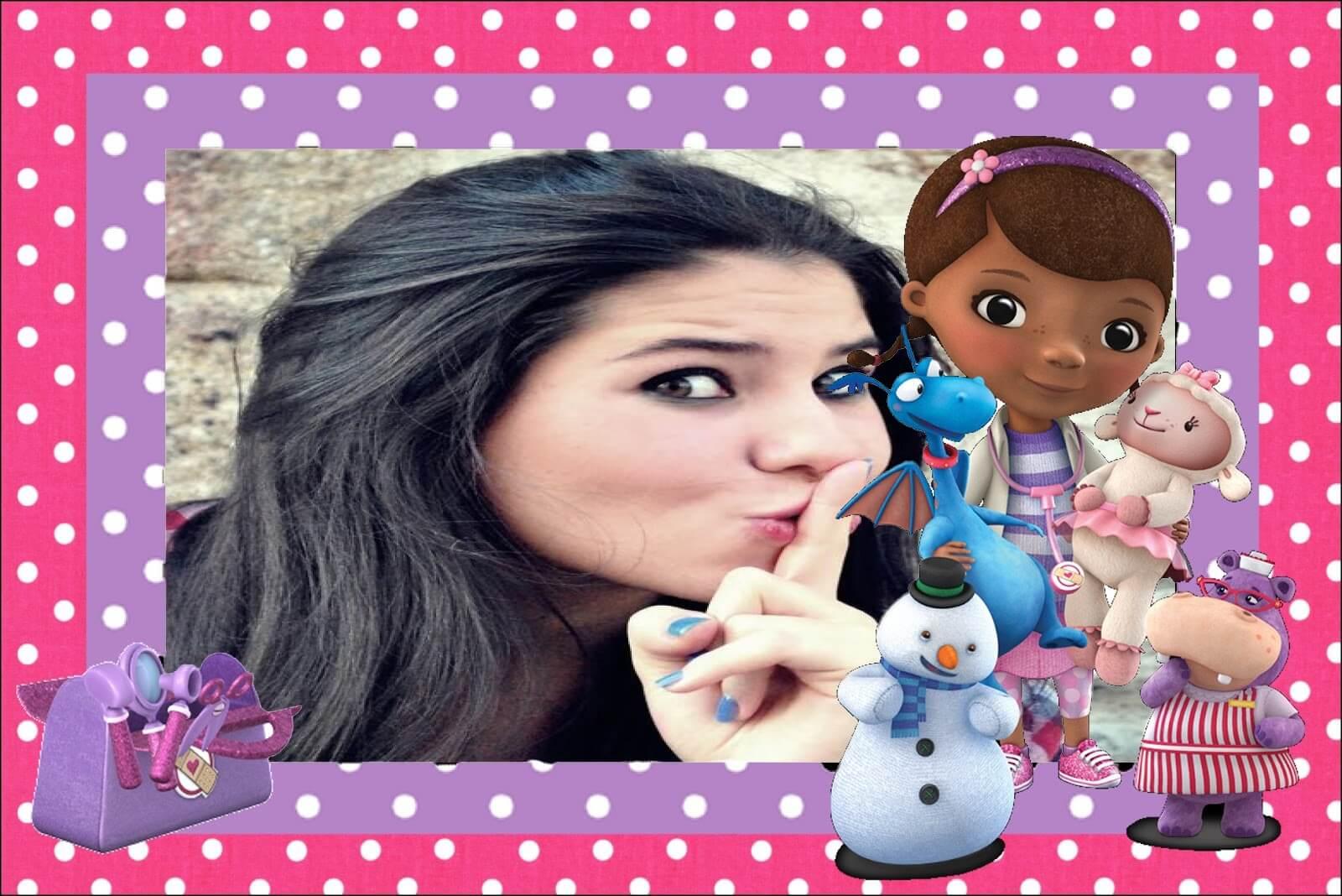 foto-moldura-rosa-para-menina-da-doutora-brinquedos