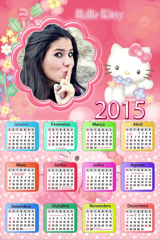 moldura-infantil-calendario-hello-kitty-2015