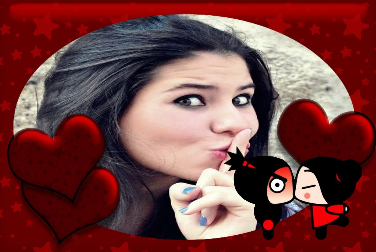 efeito-para-fotos-pucca-e-garu-in-love