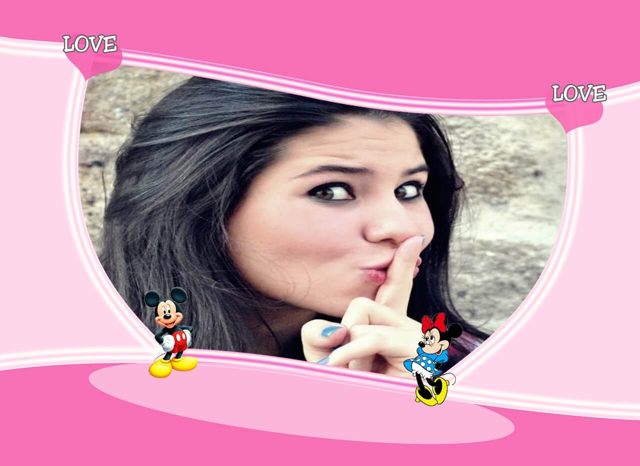 montagem-de-fotos-love-mickey-and-minnie