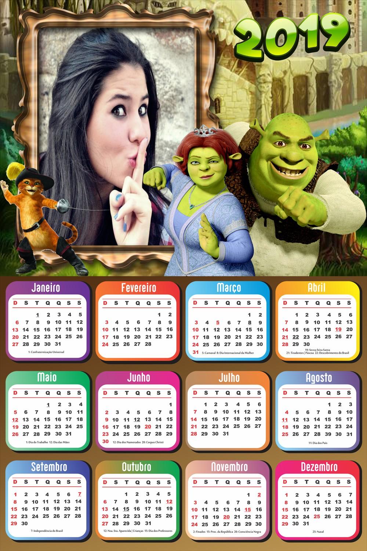 moldura-infantil-com-calendario-2019-shrek-e-fiona