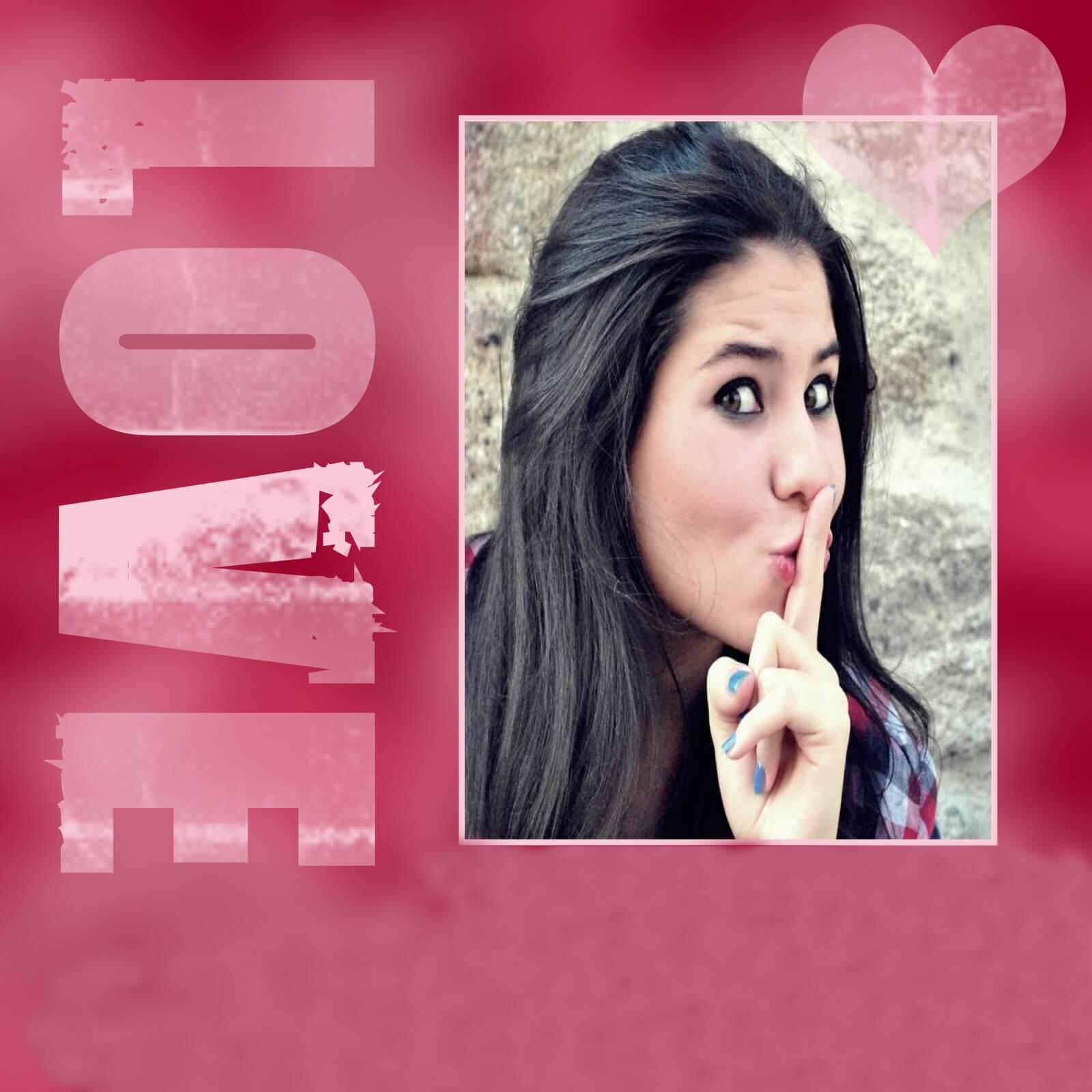 moldura-love-rosa