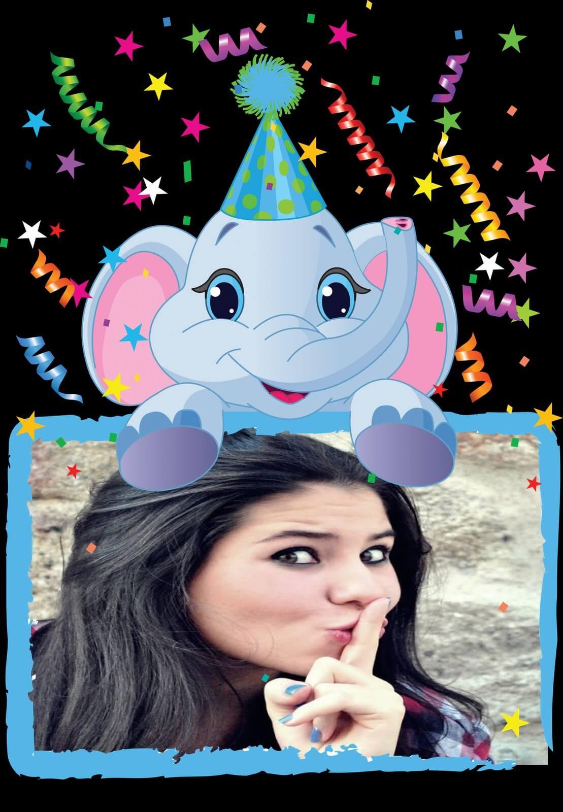 aniversario-com-elefante-em-cor-azul