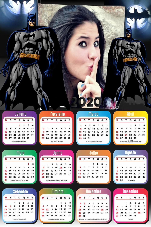 calendario-com-foto-2020-batman