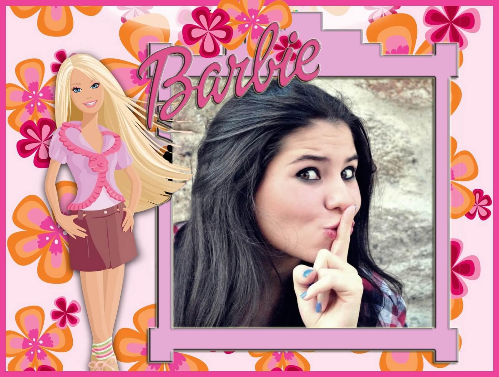 barbie-fotomontagem