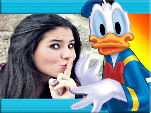 molduras-para-fotos-gratis-do-pato-donald