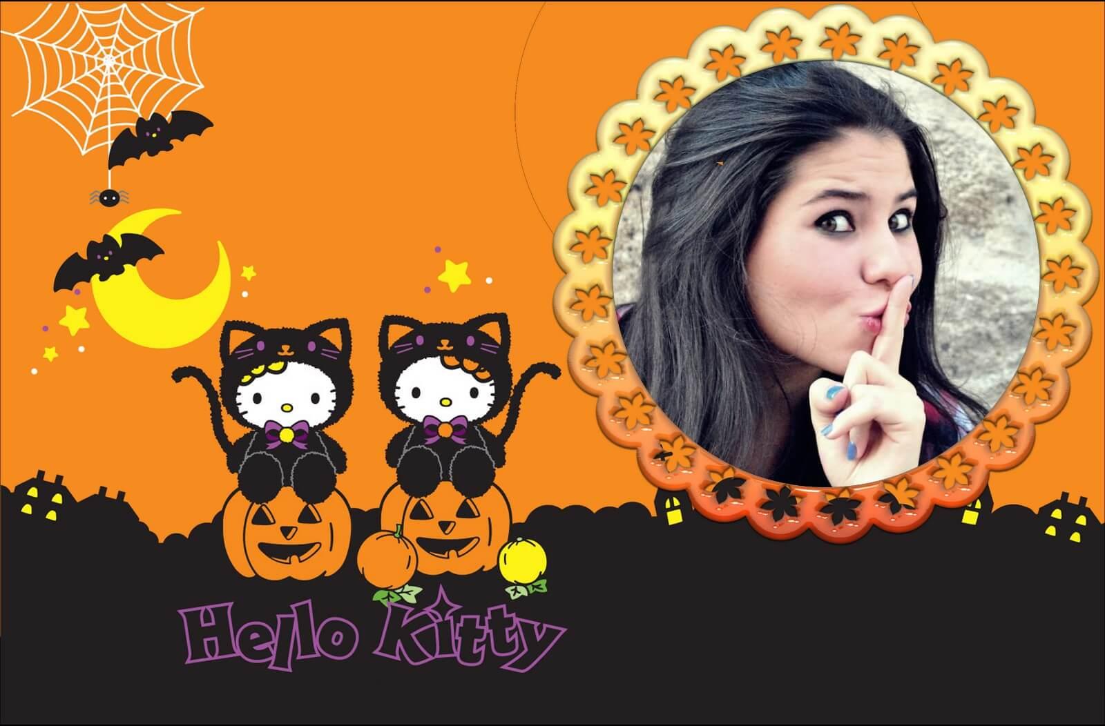 moldura-de-halloween-hello-kitty