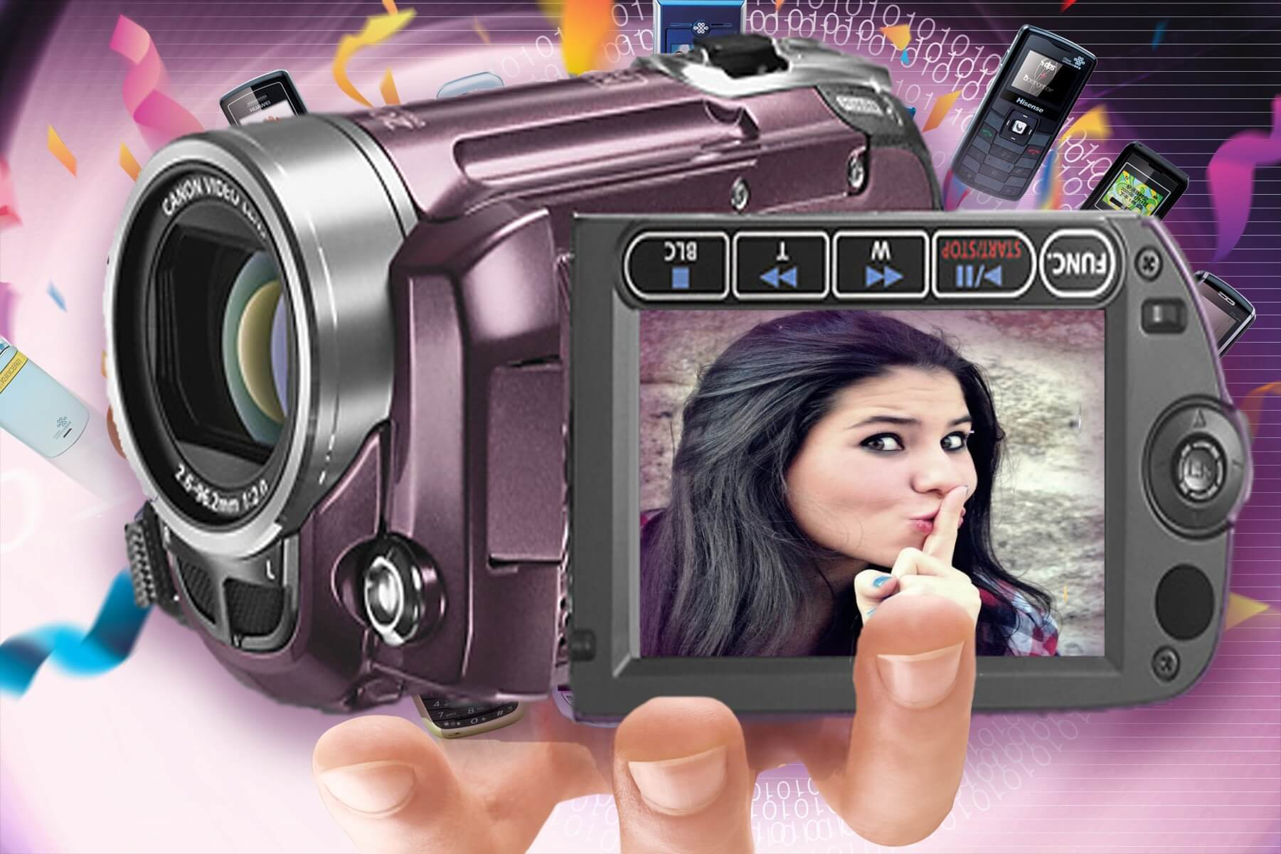 filmadora-moldura-online