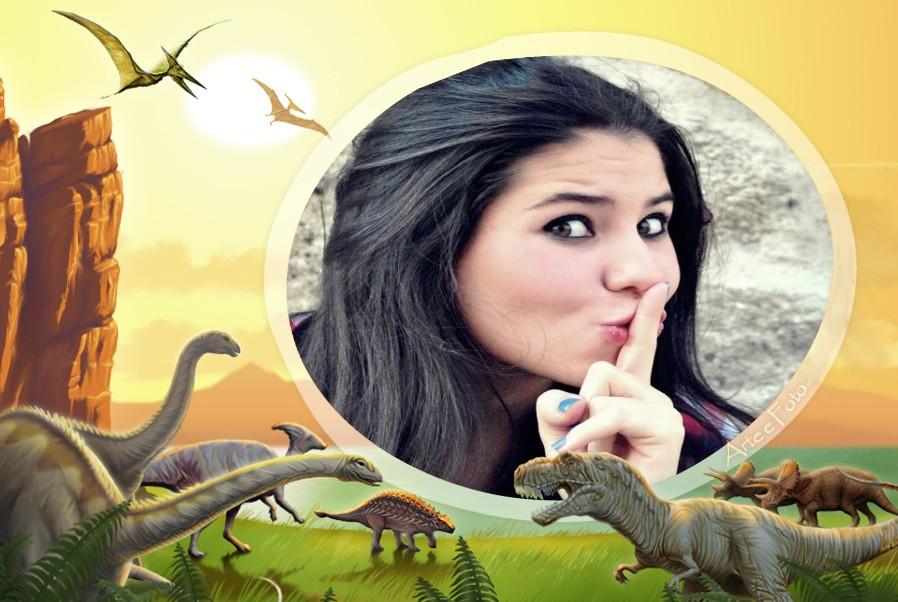 montagem-de-fotos-com-dinossauros