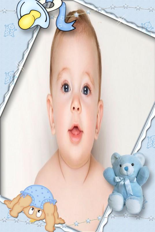 montagem-de-fotos-para-bebê-menino