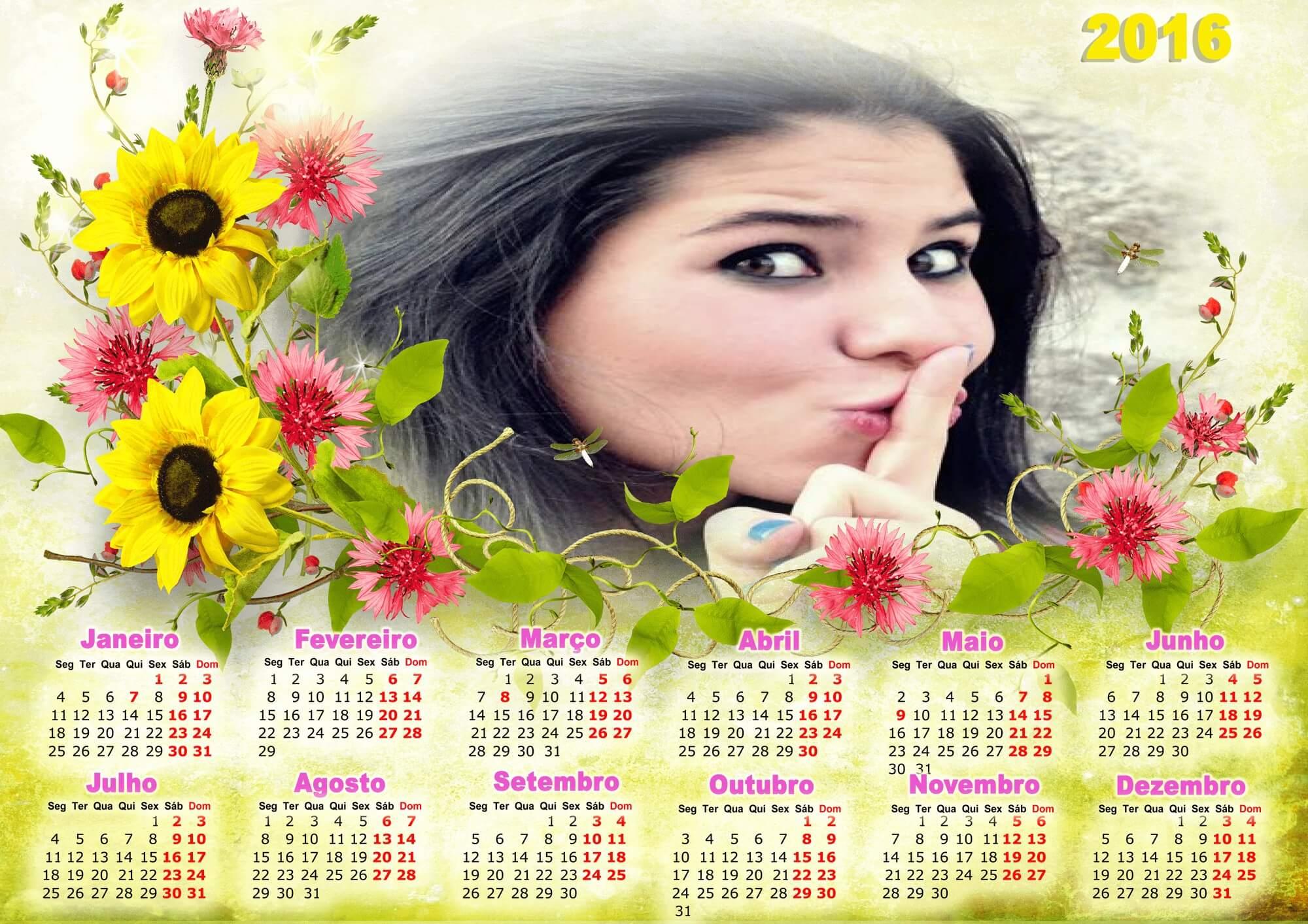 moldura-de-calendario-floral-2016