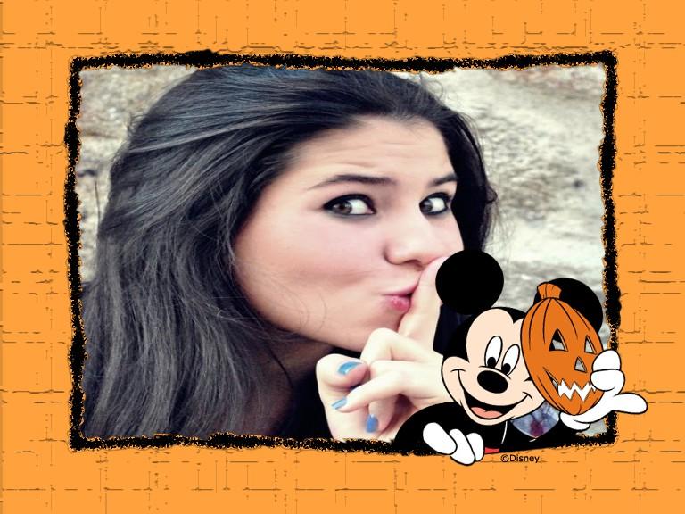 moldura-do-mickey-mouse-e-abobora-halloween