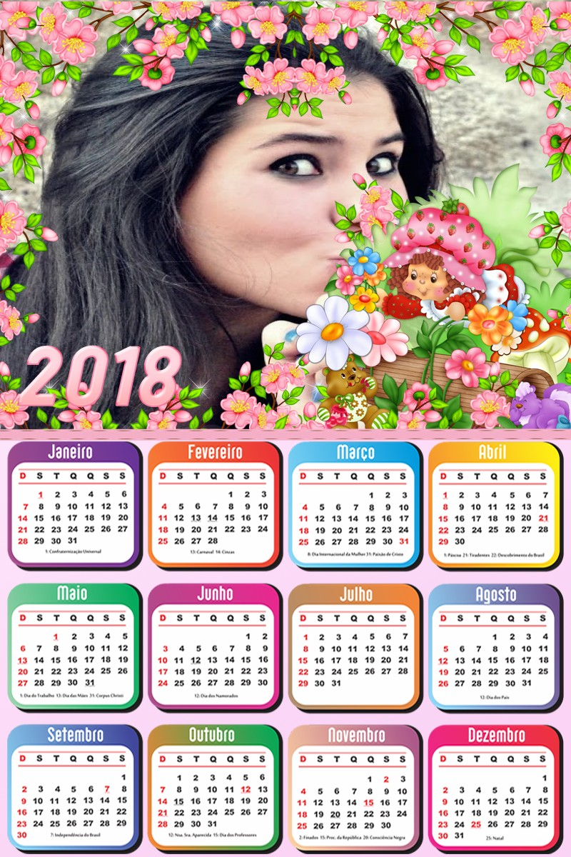 calendario-da-moranguinho-2018-fotomontagem