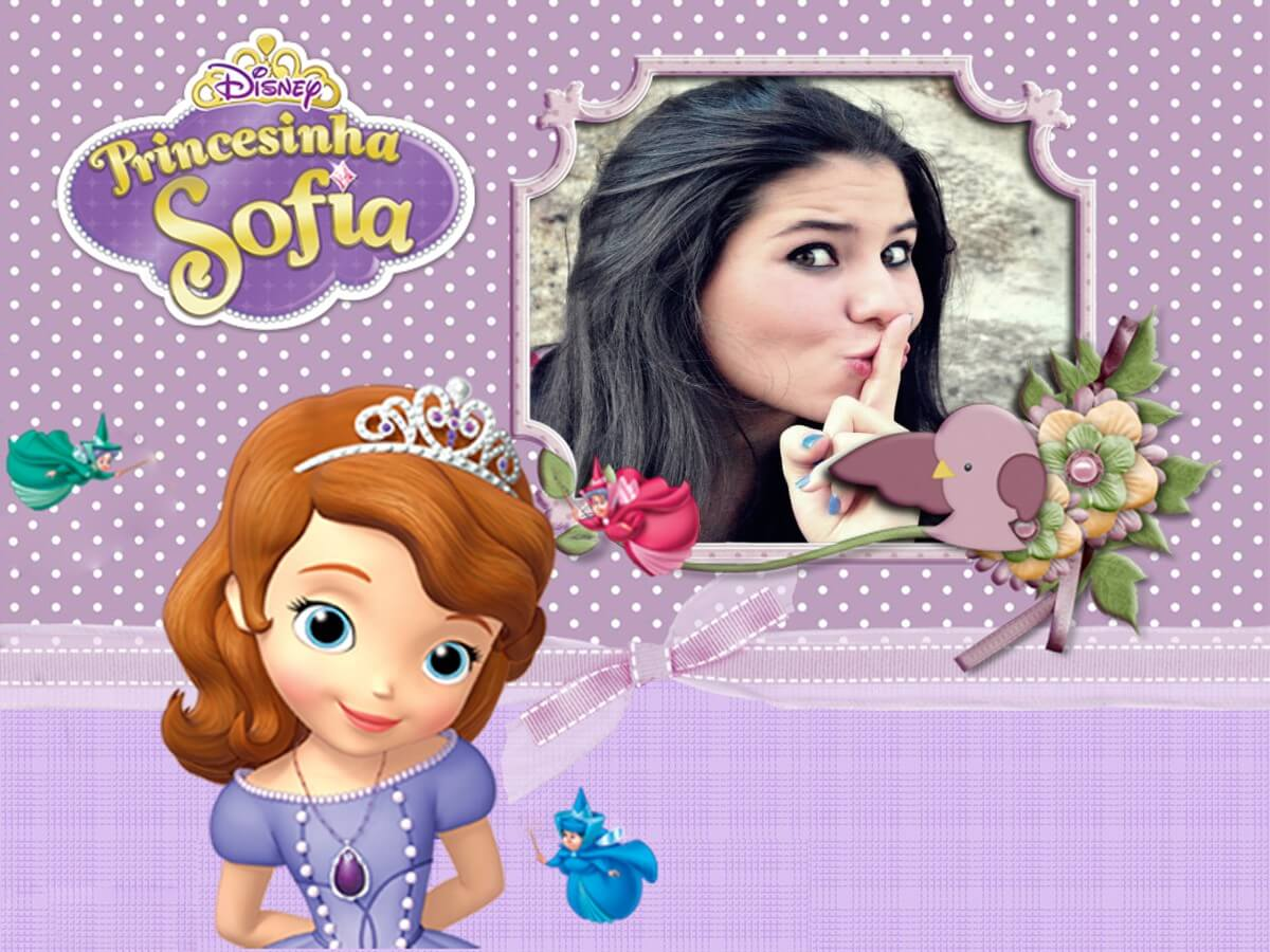 Montagem de fotos filmes decorar fotos online gratis - Foto princesa sofia ...