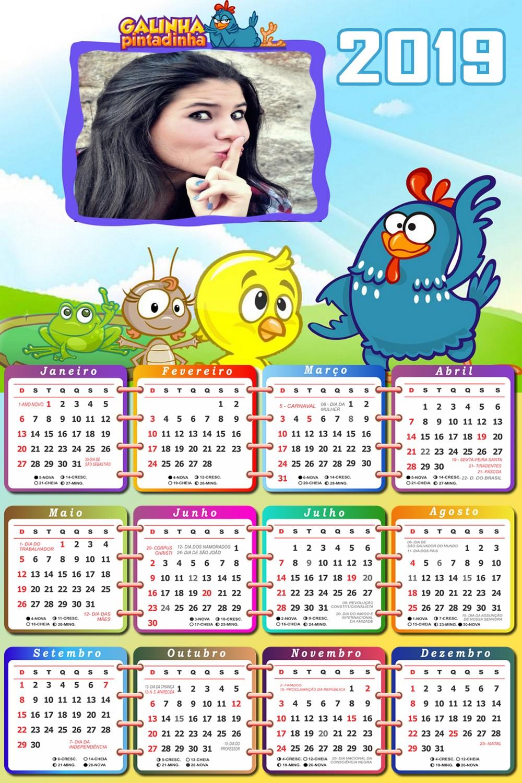 foto-moldura-calendario-2019-galinha-pintadinha