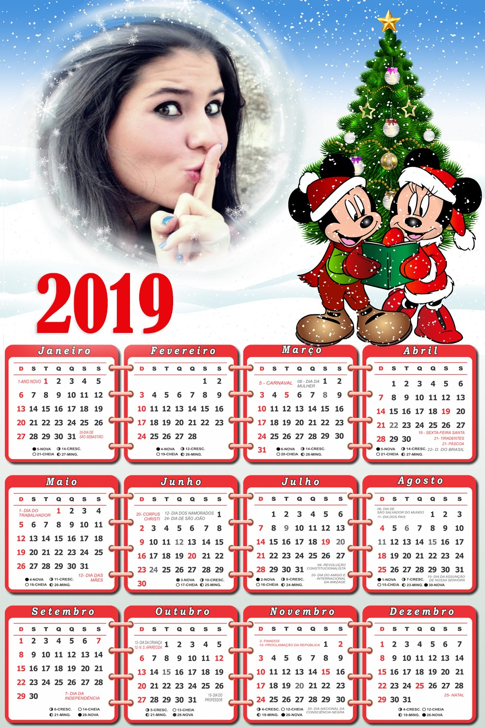calendario-2019-mickey-e-minnie-no-natal