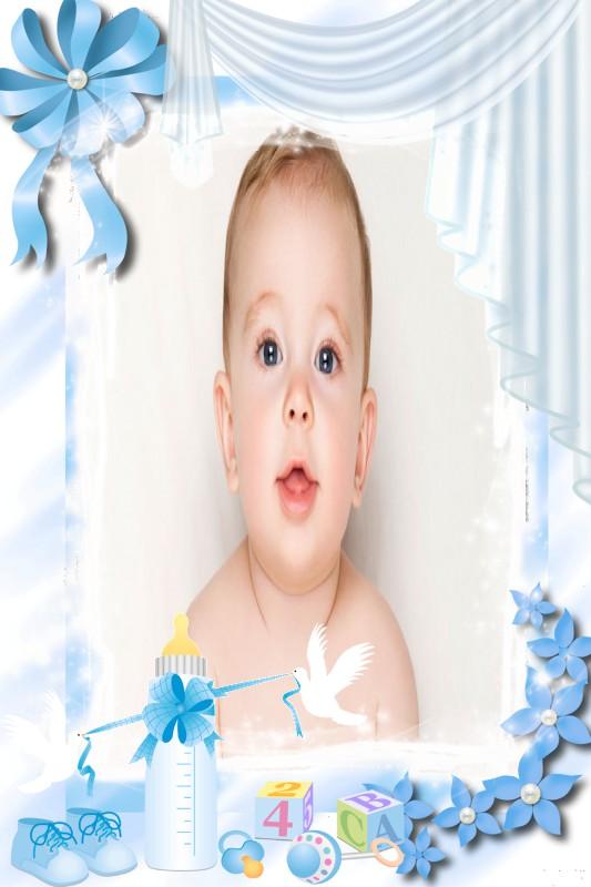 montagem-de-fotos-bebe-menino