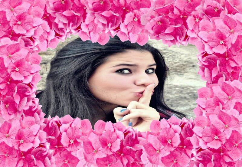montagem-de-fotos-com-flores-cor-de-rosa