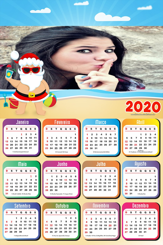 calendario-com-foto-2020-papai-noel