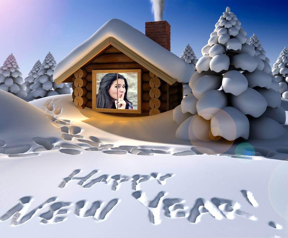 fazer-montagem-de-fotos-gratis-feliz-ano-novo-na-neve