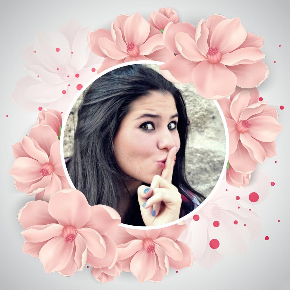 moldura-floral-rosa