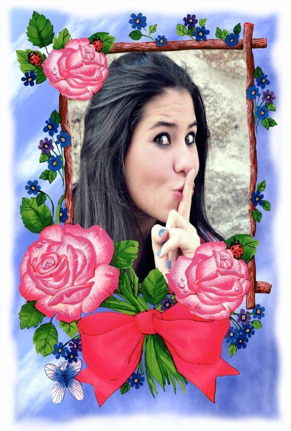 borda-azul-com-rosas