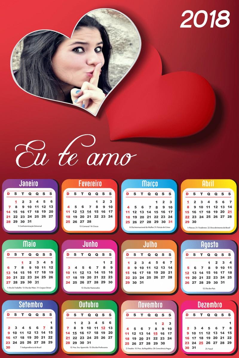 calendario-2018-eu-te-amo