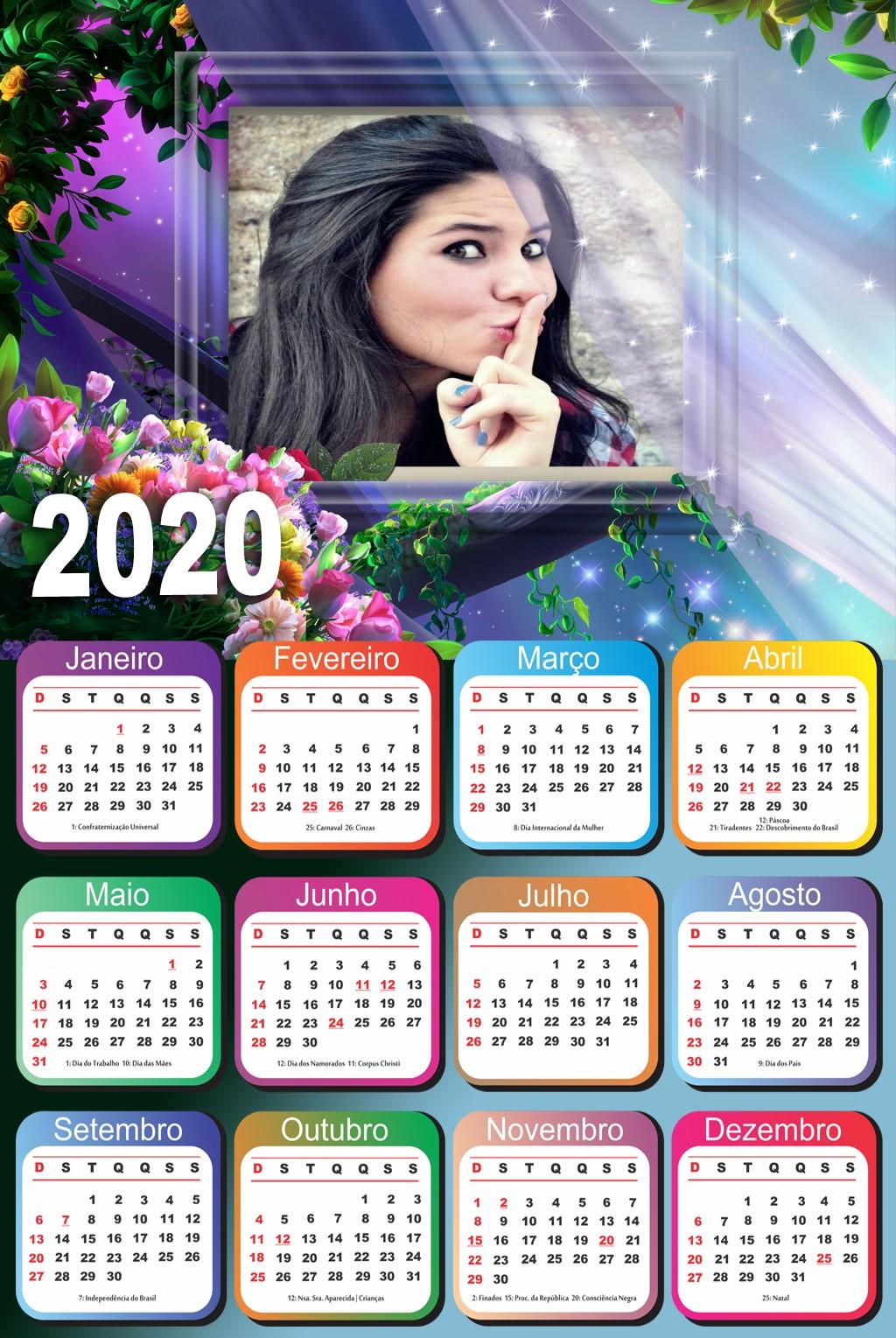 moldura-calendario-2020-com-flores