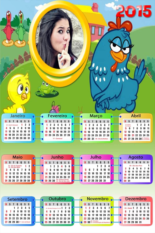 montar-foto-online-em-calendario-galinha-pintadinha