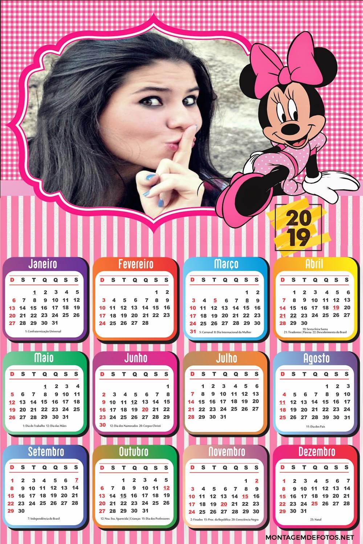 moldura-para-fotos-calendario-2019-minnie-mouse-rosa